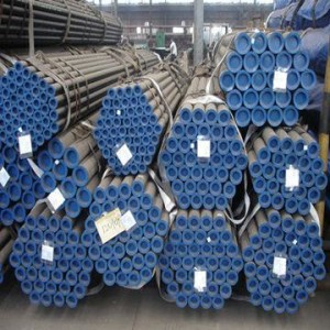 ASTM A106 Carbon Steel Pipes in Grade B, Black-painted, SRL/DRL, API Monogram, Full Sizes/Schedules